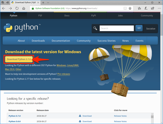 python download site latest