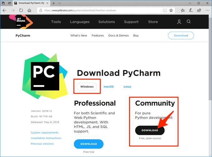 PyCharmのインストール方法(Windows) | ガンマソフト株式会社