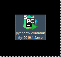 pycharm install file